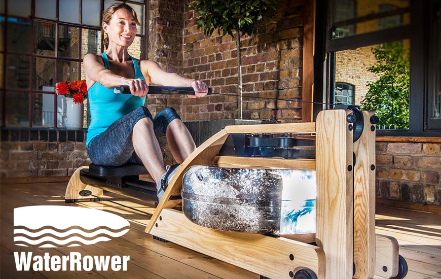 Lady on Rower